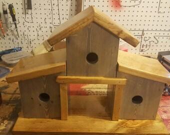 3 Room Delux Birdhouse.