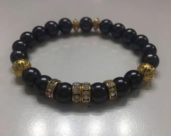 Black Gloss Bracelet