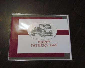 Happy Father's Day Hand Made Card