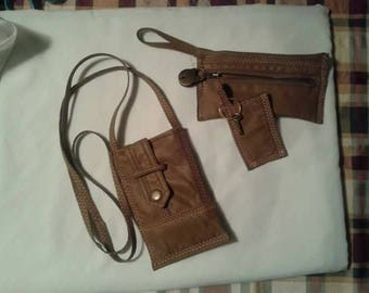Leather Cell Phone Bag