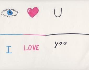 Eye Heart U by Ava Love