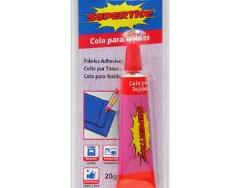 Glue glue for fabrics