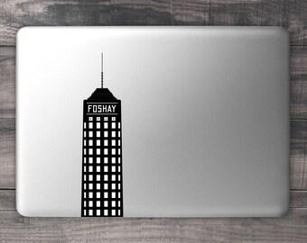 Foshay Tower Minneapolis Skyline Laptop Decal