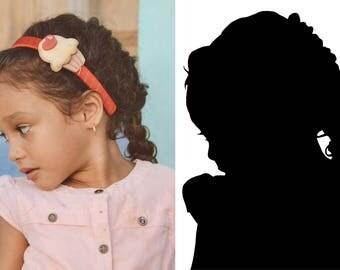 Custom Profile Silhouette Decal