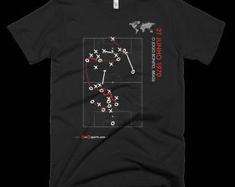 XvsO Sports T-Shirt - O Jogo Bonito, Brasil - World Cup