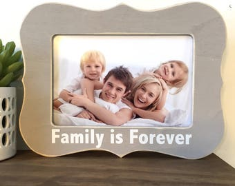 Family is Forever Picture Frame Gift