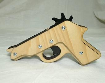 Rubber band gun PPK