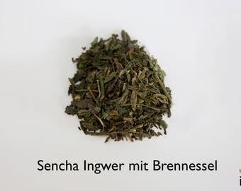 Sencha ginger stinging nettle Tea, 100g