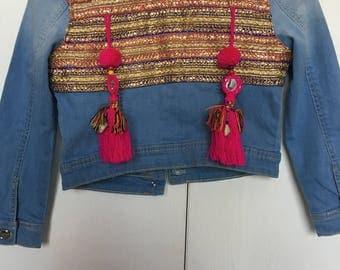 Boho chic jacket kids