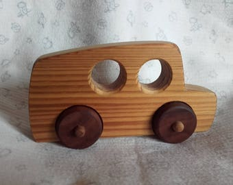 Toy car from wood, timber trucks, wood, wood toys