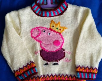 Hand knitted King George Jumper