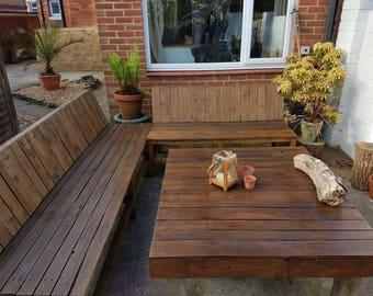 Garden Furniture - Pallet Furniture