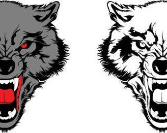Vector Wolf HEAD, svg, dxf, eps, jpg, Download files, Digital, graphical