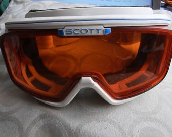 vintage scott snowboarding ski goggles