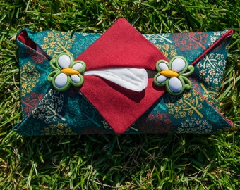 Pocket Tissue Holder 100% Cotton