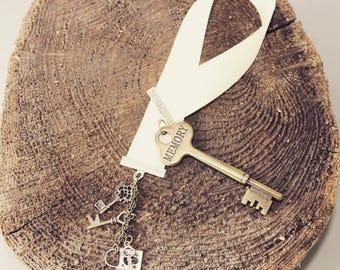 Memory Bookmark, Skeleton Key Bookmark