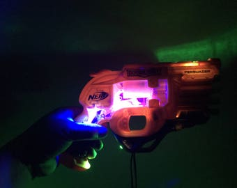 Nerf Modified with LED Lights