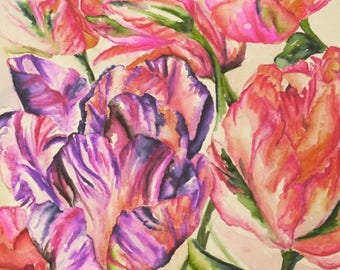 Original floral watercolour design