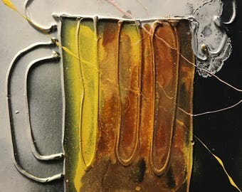 Beer Abstract Art
