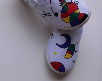 Hand-painted shoes