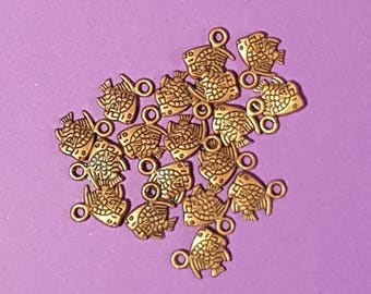 3D Copper Fish Charms