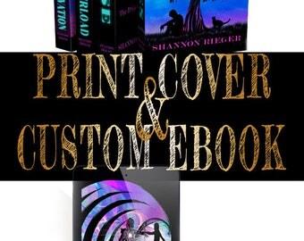 Custom ebook and print Book Cover