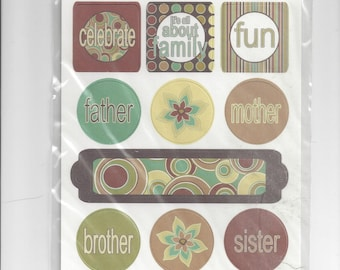Three Bugs in a Rug ~ Card Stock Die Cuts ~ The Cotton Shop