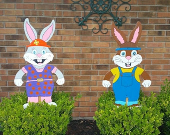 Easter Bunny couple
