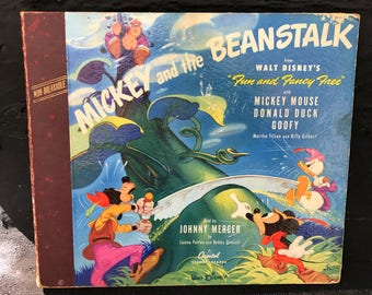 Mickey and the Beanstalk Record Book