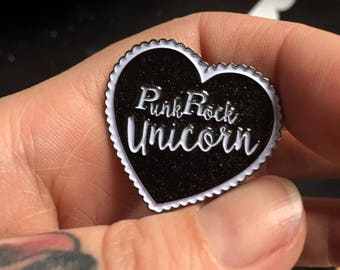 PunkRock Unicorn pin
