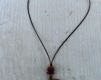 Australian Wood Amulet