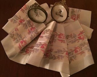 Silk Moire' & Satin Ribbon