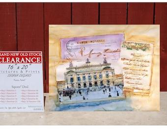 Art Print By SUSANA ENGLAND Parisian Postals - SQUARE Deal - Buy 2 Get 2 Free -Buy 4 Get 12 Free -Buy 7 Get 42 Free -Buy 10 Get 90 Free