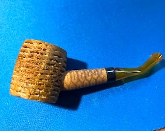 """Vintage Meerschaum Corn Cob Pipe 3 1/2 """""""