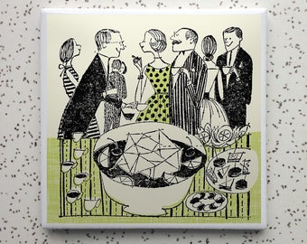 Punchbowl Tile Coaster