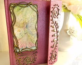 Summer - Altered Fairy - Journal - Book of Shadows - Fairy Fantasy Art by Molly Harrison