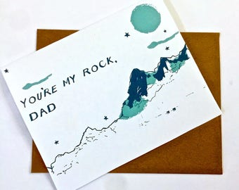 Father's Day Card - Screen Printed