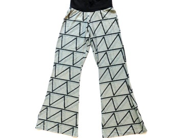 SALE #209: Hemp Zig-Zag Pant // Size Small