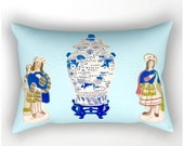 STAFFORDSHIRE & GINGER JAR Pillow