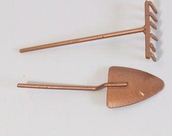 Fairy or gnome Garden miniature gardening tools