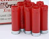 20 Silver or Brass 12 Gauge Spent Empty Shotgun Shells for crafts