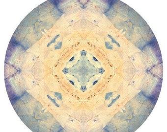 Mandala Art Print, Abstract Photography, Photo Mandala Print, Sacred Geometry, Meditation Art, Peaceful Wall Decor, Meditation Wall Art