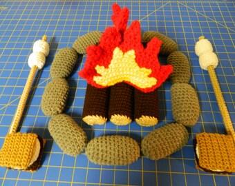 Crochet Campfire Set