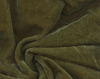 Beautiful Silk Velvet Fabric Leaf