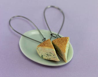 Stilton Cheese Earrings