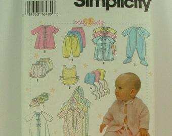 Simplicity 9380 Newborn to 18 months Layette set