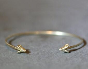 30% OFF WINTER SALE Ram Cuff Bracelet  in Brass
