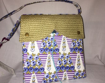 CLEARANCE - Serena Project Bag for knitting or crocheting