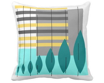 """Evoleaftion Throw Pillow 3 Color Choices in 16""""x16"""" or 20""""x20"""" Poly or Cotton Your Choice with Free US Shipping"""