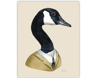 Canada Goose print 8x10